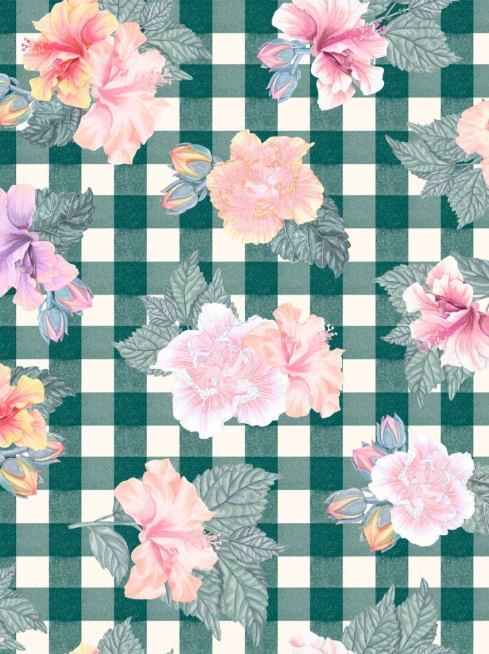 Floral Vichy